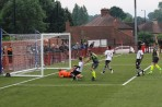 Mark Danks scores his second goal to give Boldmere a 3-1 lead